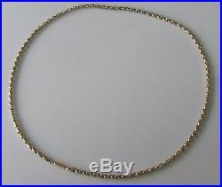 Vintage 9ct gold belcher link (10.5g) chain