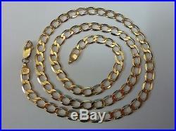 Wonderful 9ct Gold 19 Curb Chain